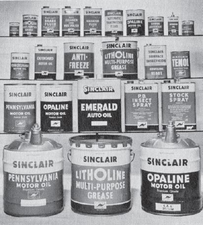 History Sinclair Oil