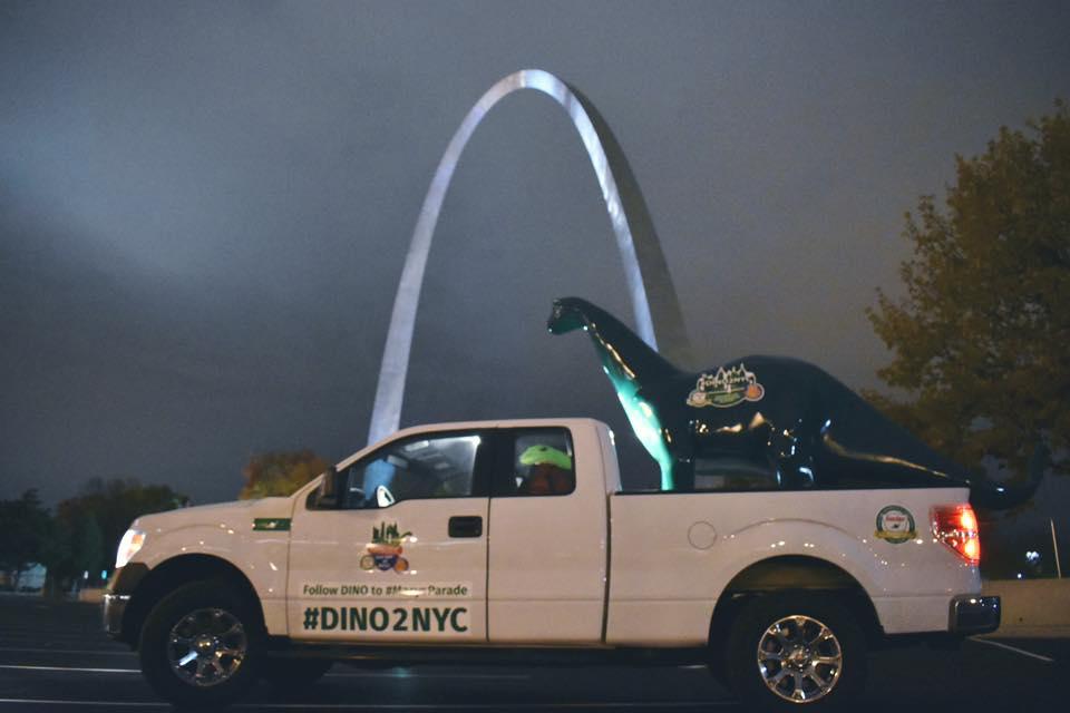 DINO Car at Gateway Arch