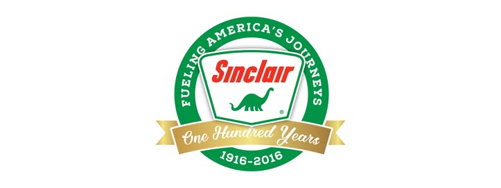 sinclair centennial logo