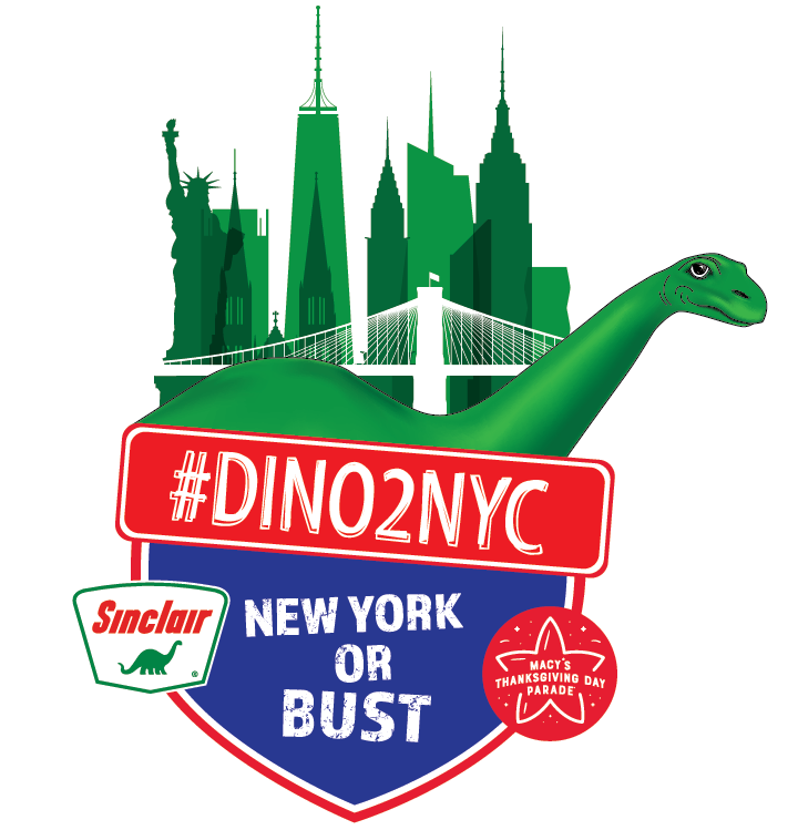 DINO2NYC Sweepstakes 2018 | Sinclair Oil Corporation