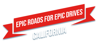 Epic roads for epic drives: California