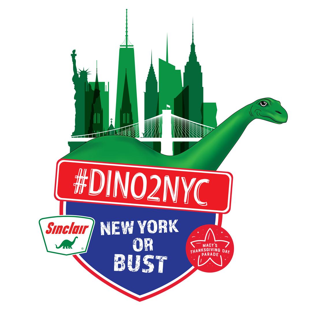 #DINO2NYC