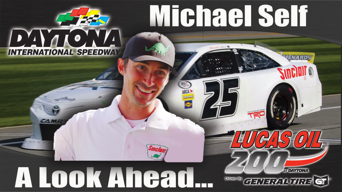 Michael Self returns to Daytona