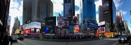 The Macy's Thanksgiving Day Parade® panoramic
