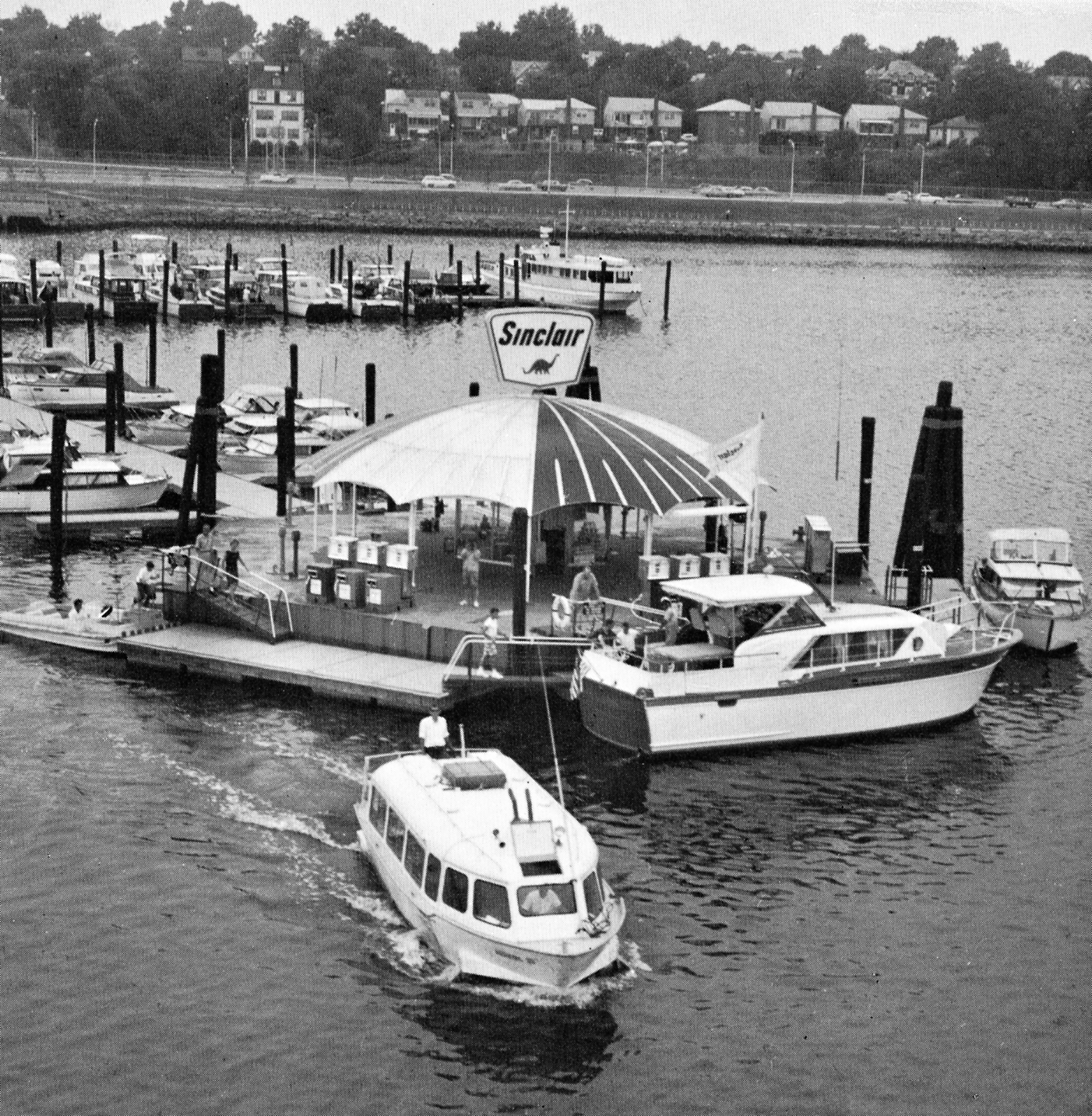 sinclair 1960s boat station