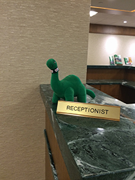 DINO at receptionist