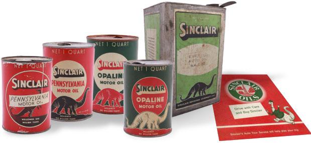 Dino History Sinclair Oil Corporation