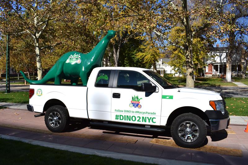 #DINO2NYC truck